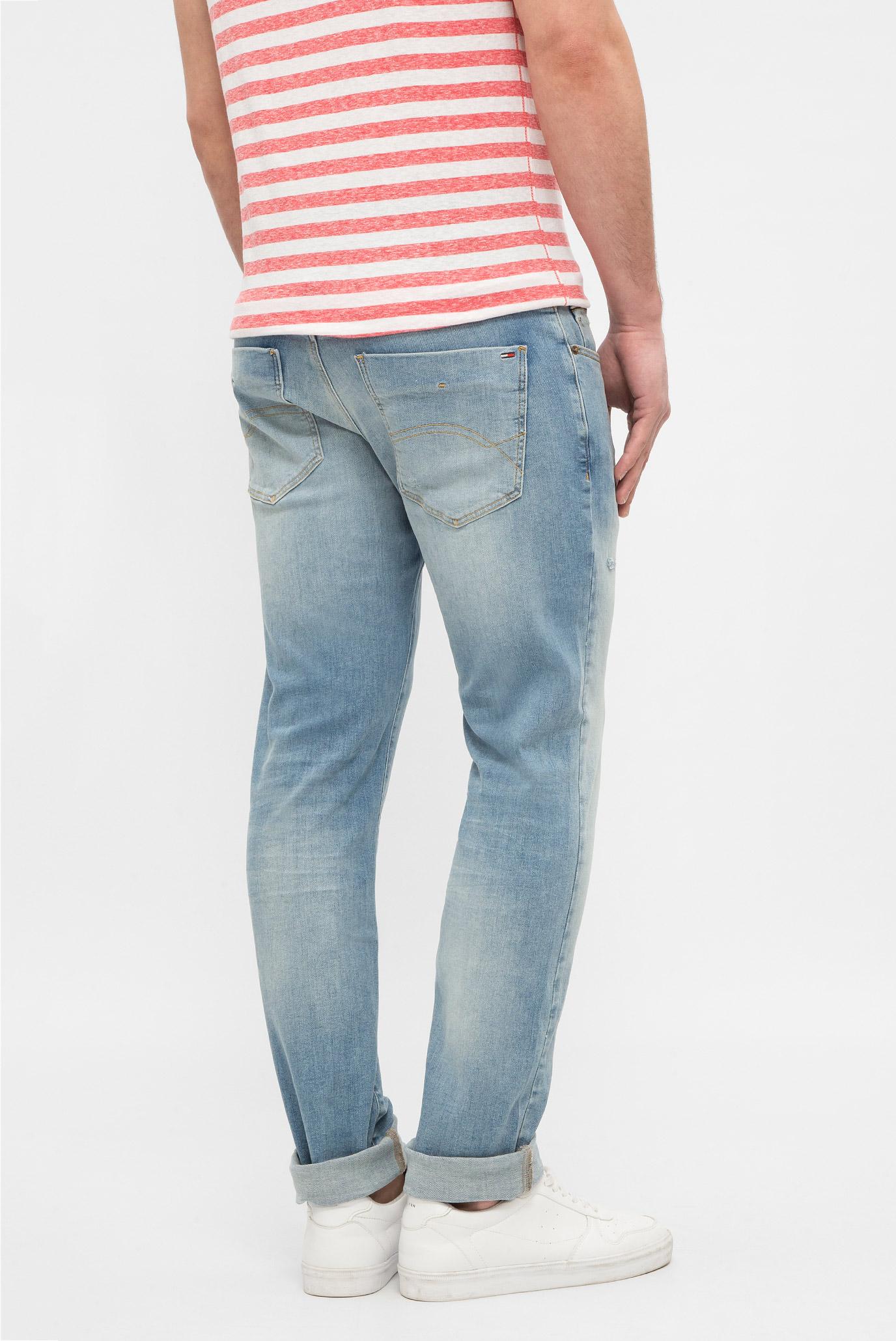 Купить Мужские голубые джинсы SLIM SCANTON Tommy Hilfiger Tommy Hilfiger DM0DM03620 – Киев, Украина. Цены в интернет магазине MD Fashion