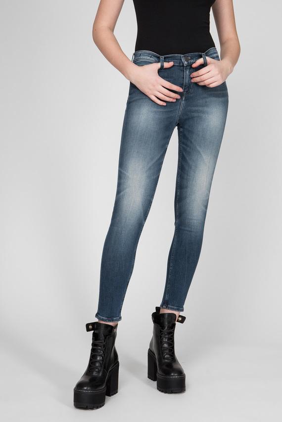 Женские темно-синие джинсы NORA MID RISE SKINNY ANKLE