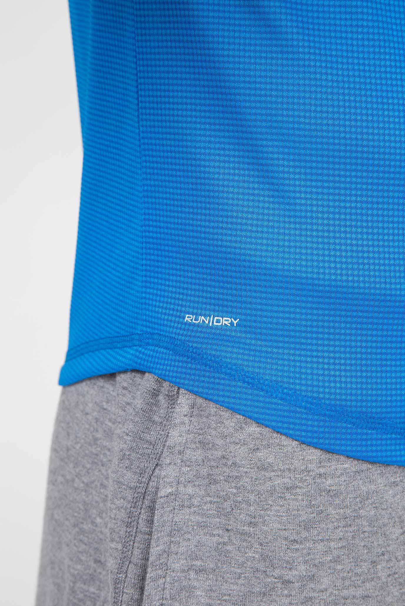 Мужская синяя футболка HYDRALITE SHORT SLEEVE Saucony
