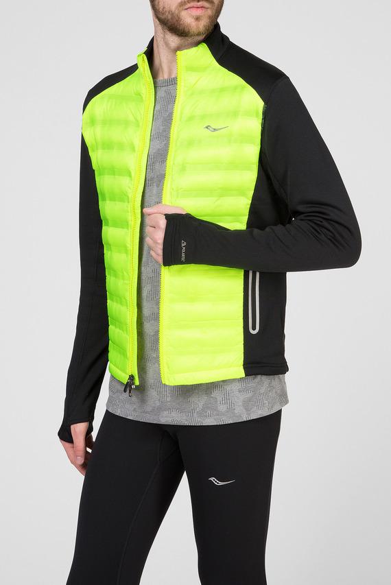 Мужская желтая куртка
