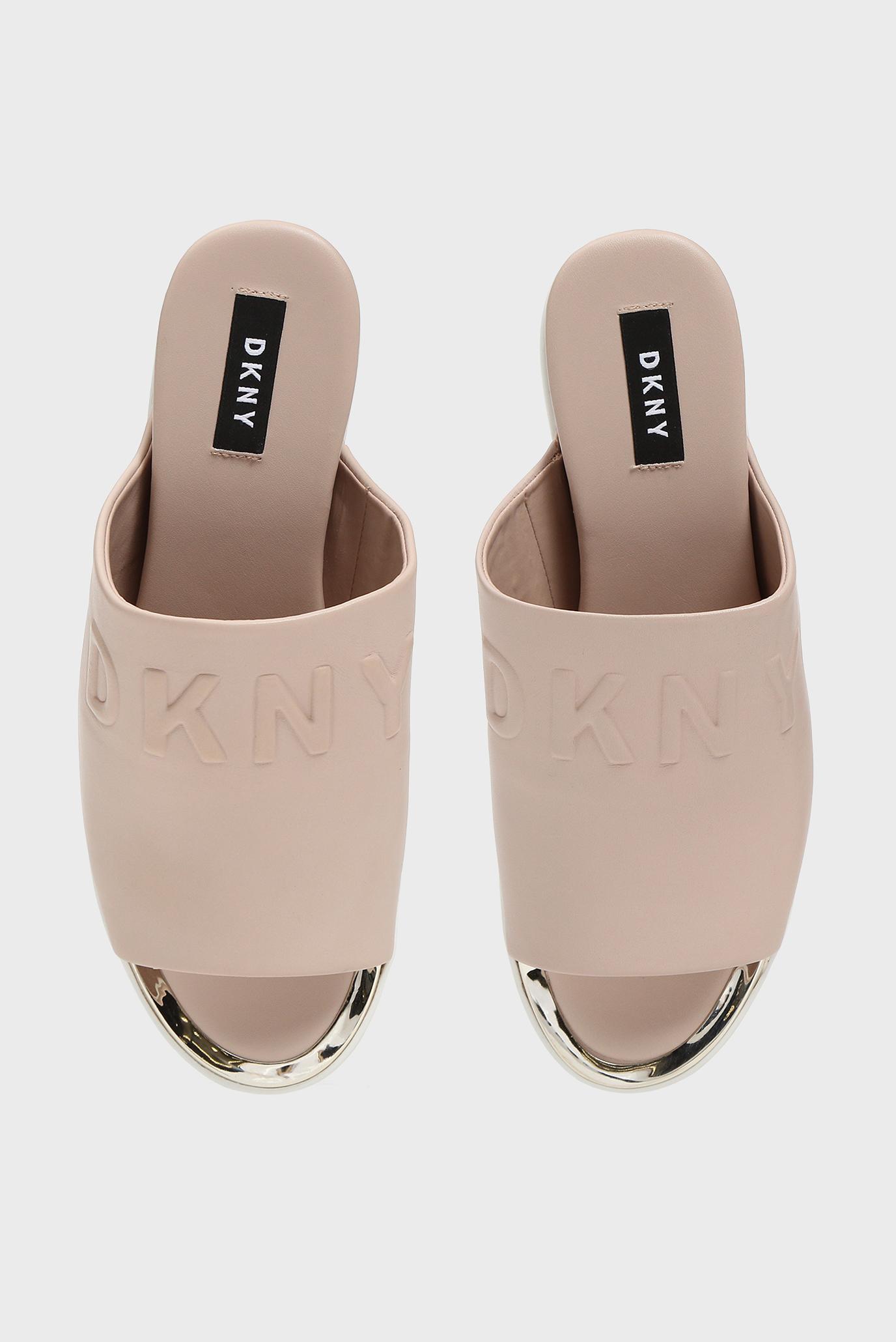 Купить Женские пудровые кожаные слайдеры COVO DKNY DKNY K1963357 – Киев, Украина. Цены в интернет магазине MD Fashion