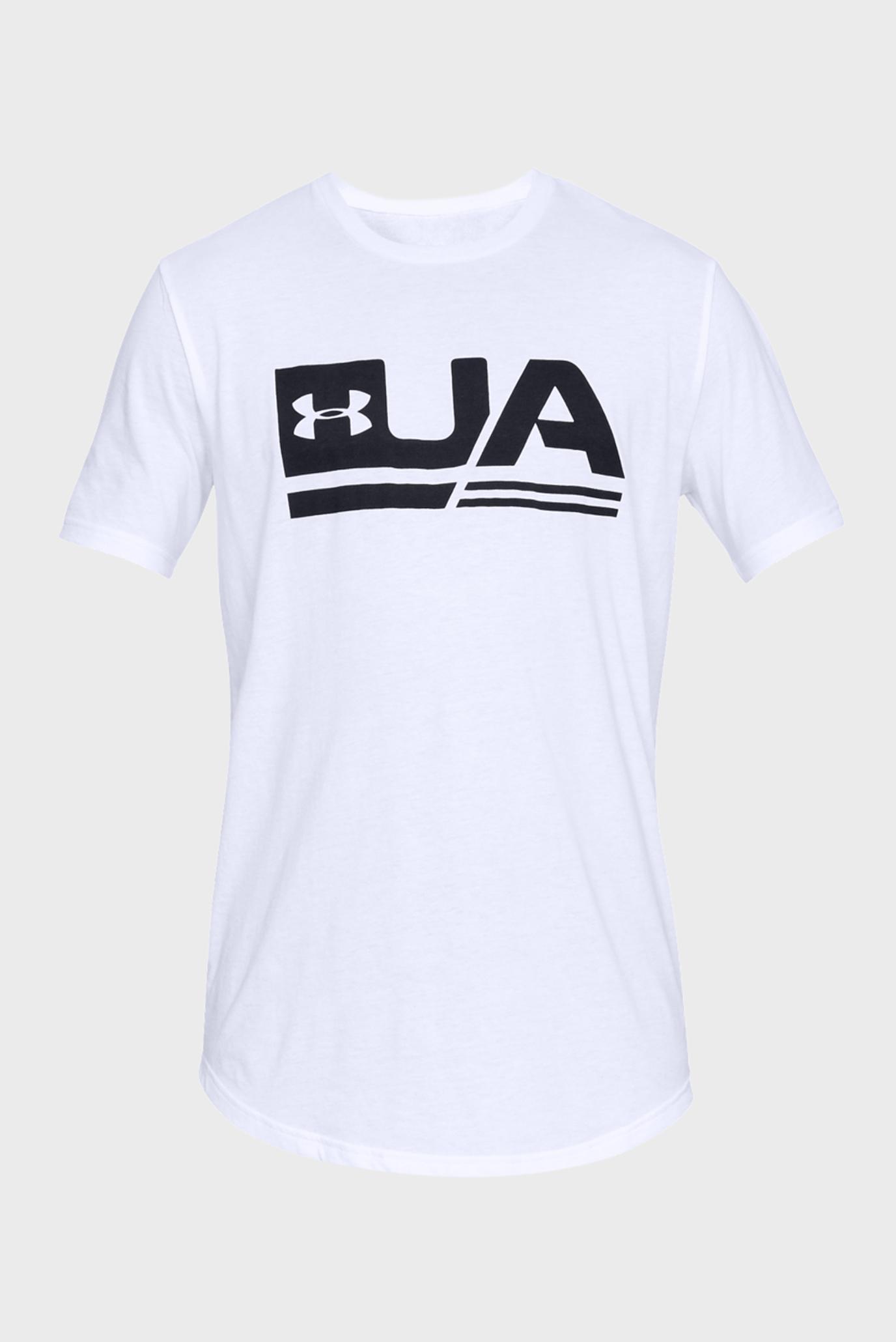 Купить Мужская белая футболка UA SPORTSTYLE SS DROP HEM Under Armour Under Armour 1329617-100 – Киев, Украина. Цены в интернет магазине MD Fashion