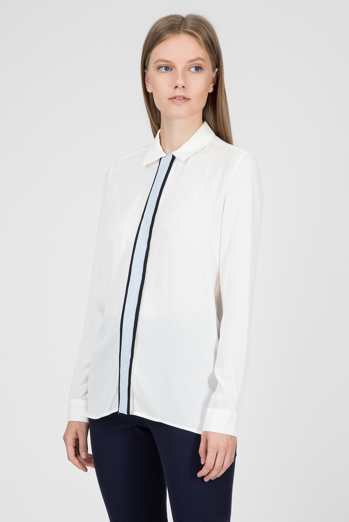 Купить Женская белая рубашка Tommy Hilfiger Tommy Hilfiger WW0WW23036 – Киев, Украина. Цены в интернет магазине MD Fashion
