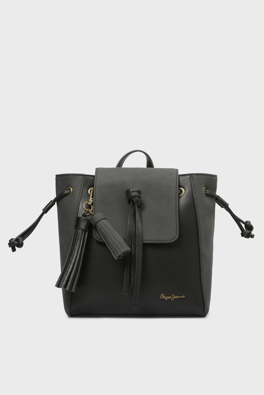 Женский черный рюкзак BITMAT