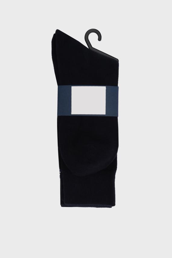Мужские хлопковые носки (2 пары) SOLID AND STRIPE 410