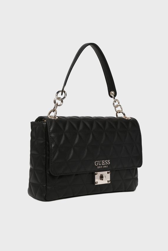 Женская черная сумка на плечо LAIKEN SHOULDER