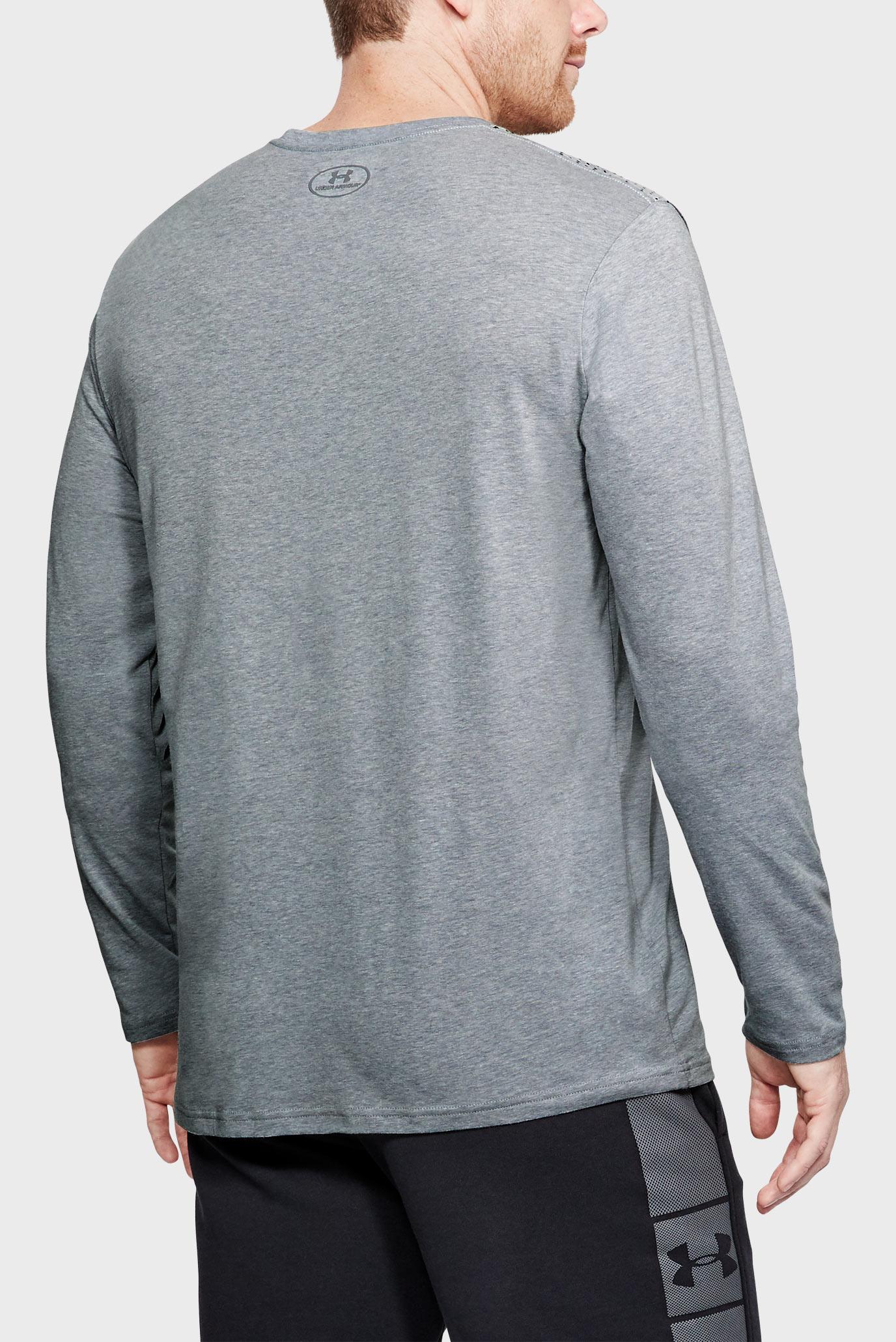 Купить Мужской серый лонгслив Branded Gradient LS Under Armour Under Armour 1310970-035 – Киев, Украина. Цены в интернет магазине MD Fashion