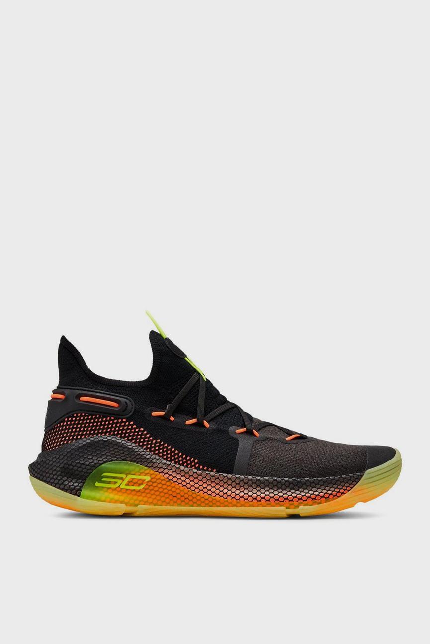 Мужские черные кроссовки UA Curry 6