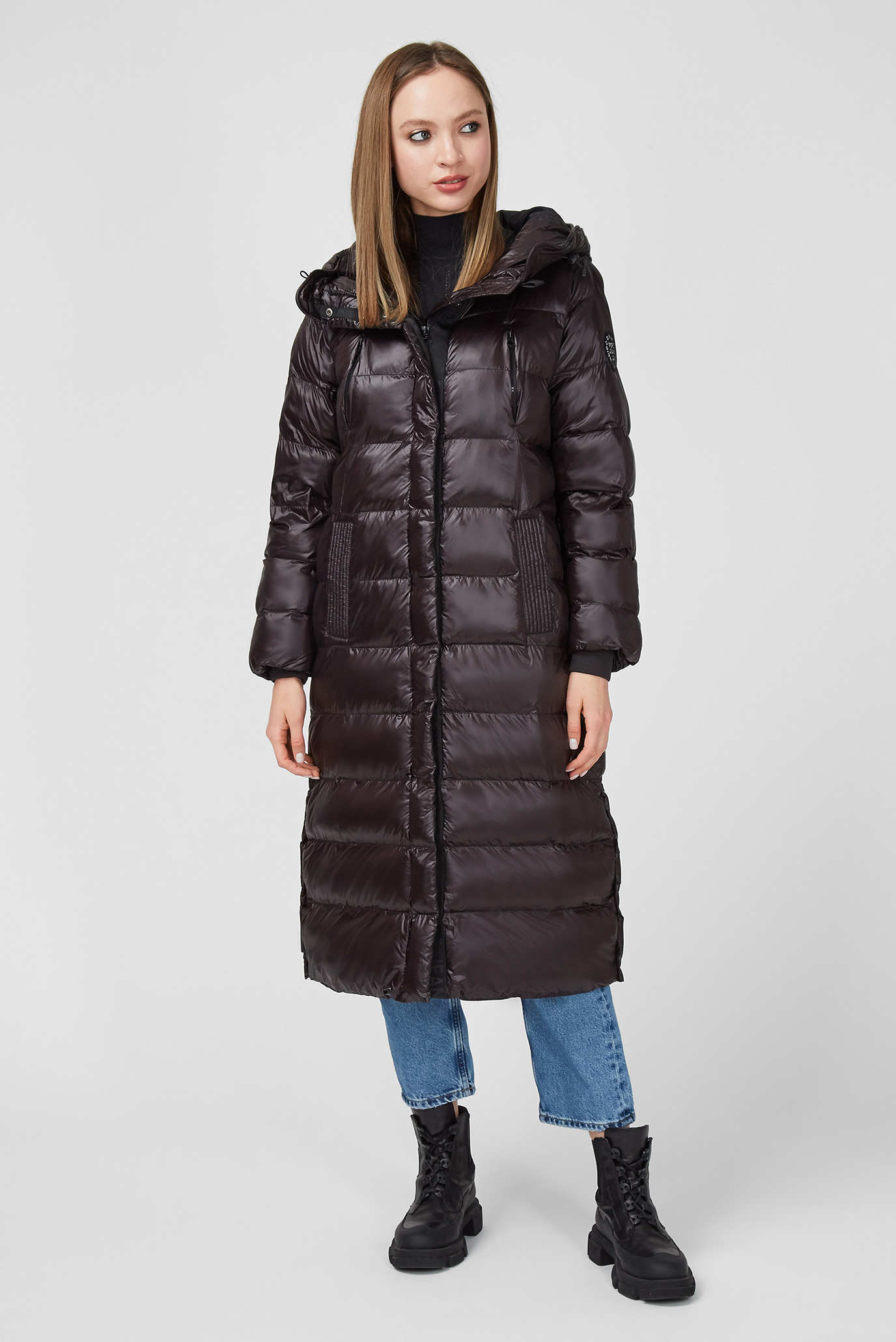 Жіноча чорна куртка LIZZY 1
