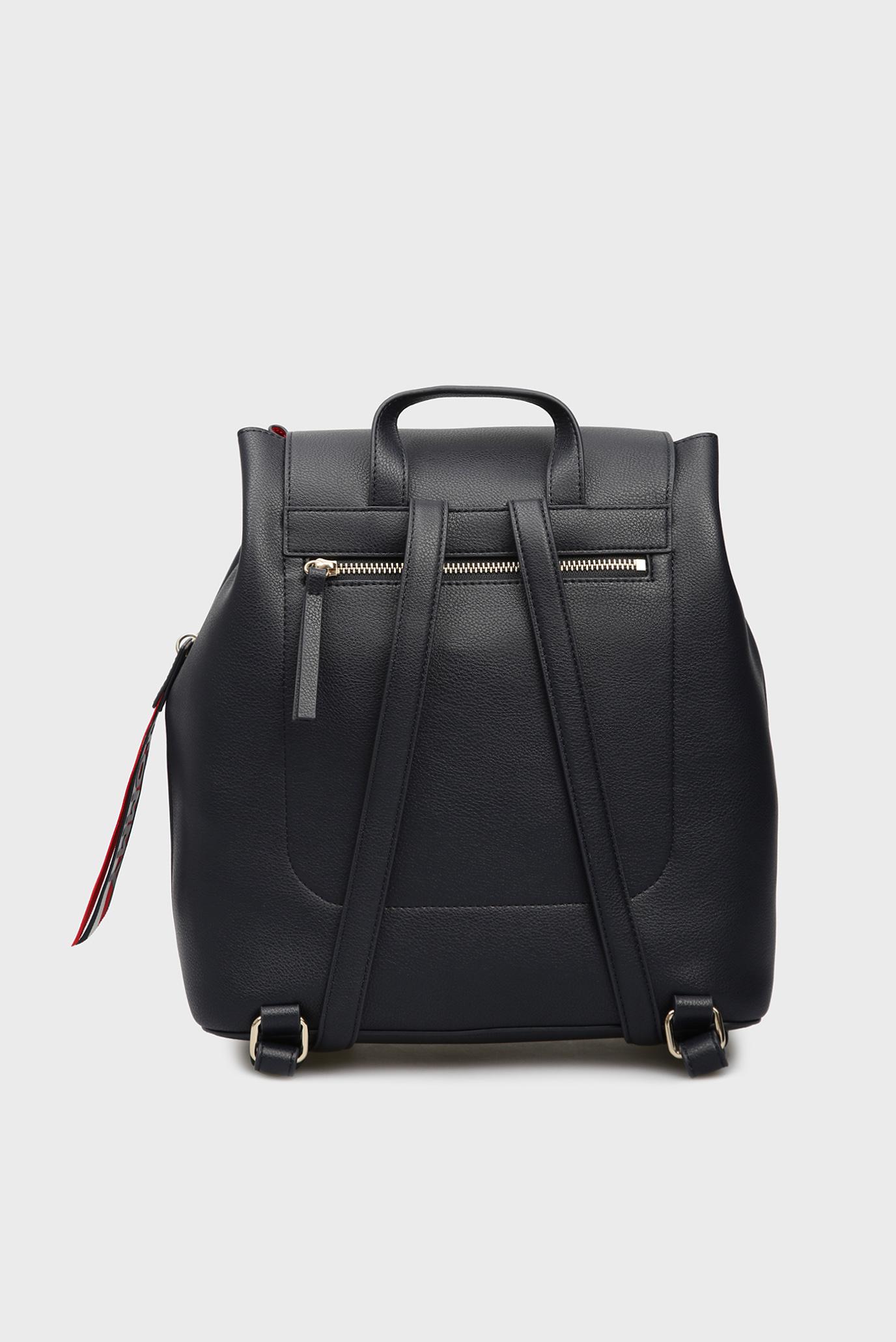 Купить Женский синий рюкзак CHARMING Tommy Hilfiger Tommy Hilfiger AW0AW05791 – Киев, Украина. Цены в интернет магазине MD Fashion