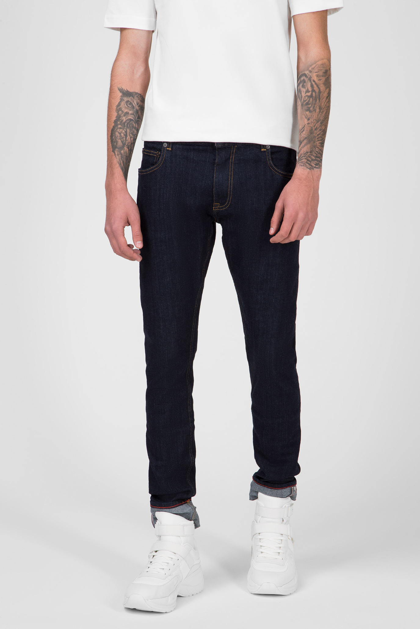 Мужские темно-синие джинсы LEWIS HAMILTON SELVEDGE DENIM Tommy Hilfiger