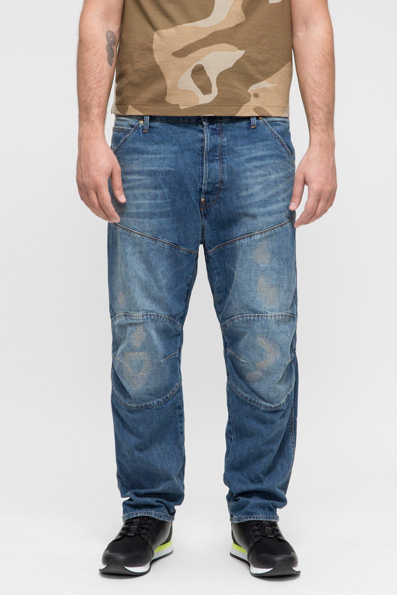 Мужские синие джинсы 5620 3D Loose 1