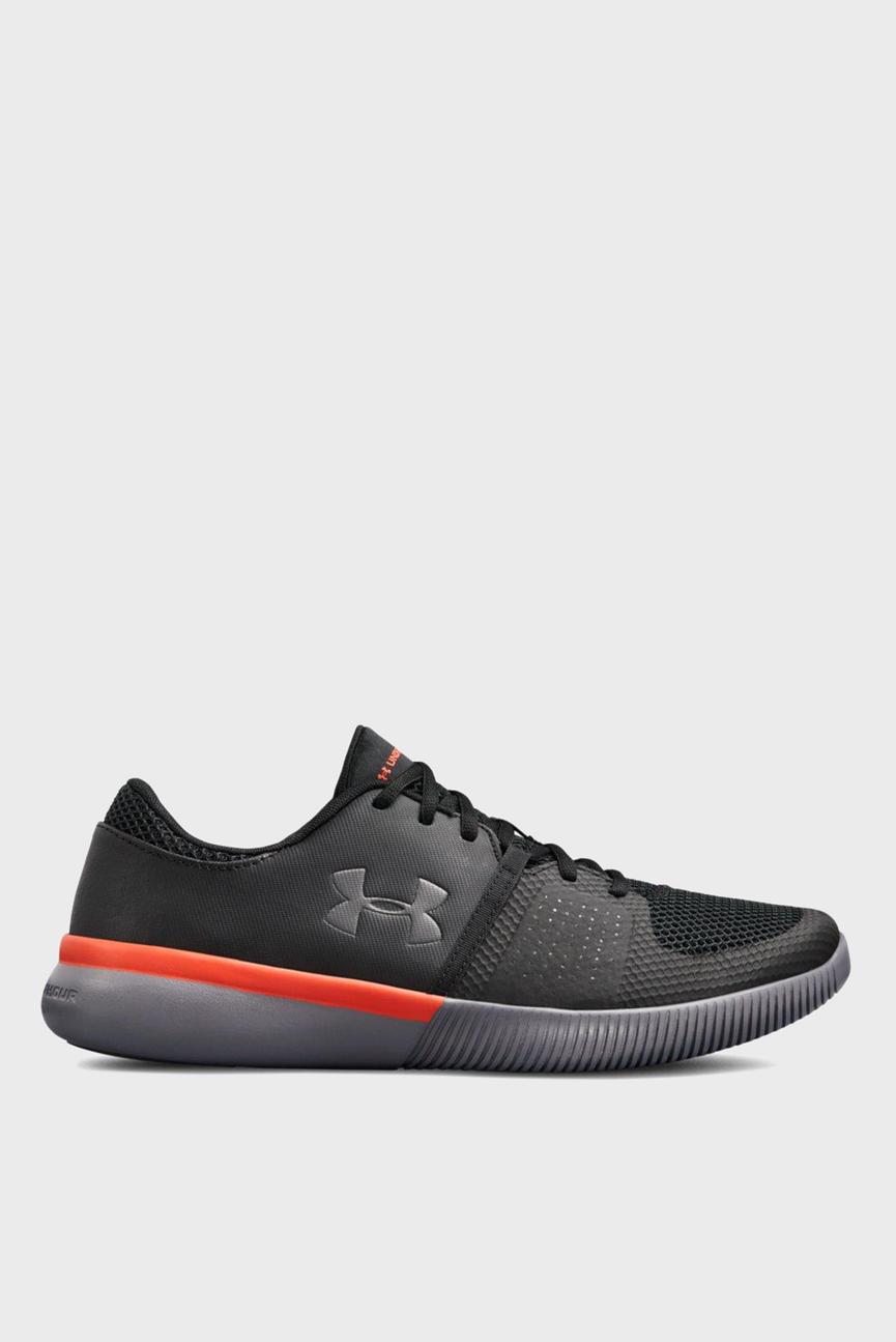 Мужские черные кроссовки UA Zone 3 NM