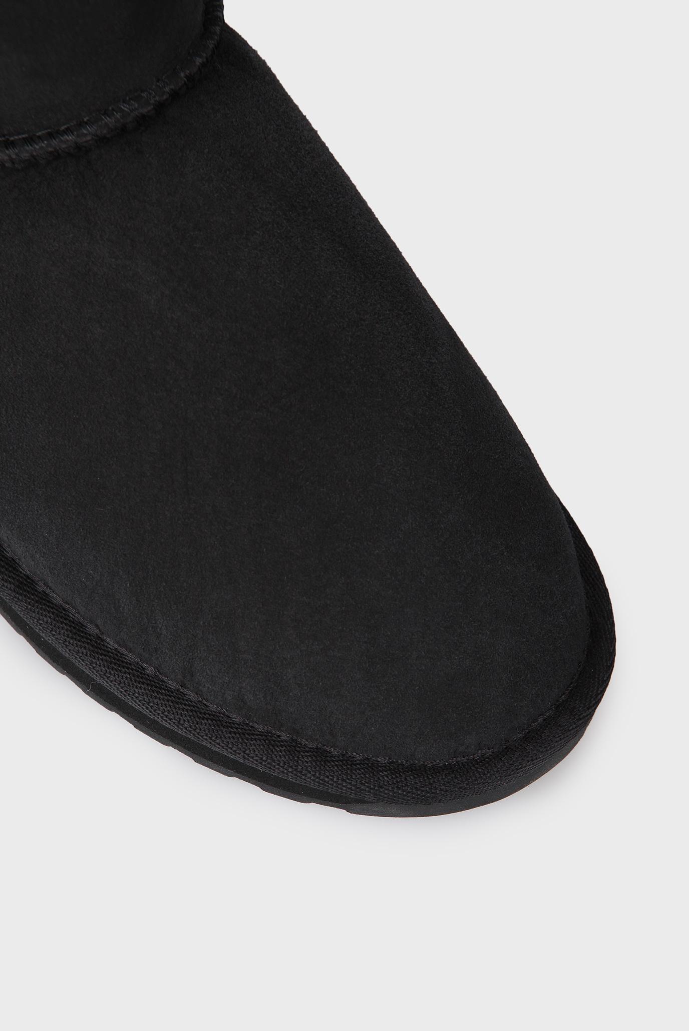 Купить Женские черные замшевые угги EMU Australia  EMU Australia  W10937 – Киев, Украина. Цены в интернет магазине MD Fashion