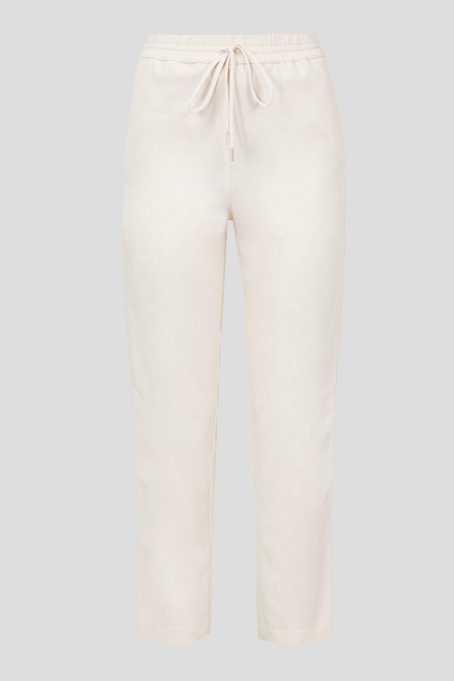Женские бежевые брюки Patrizia Pepe