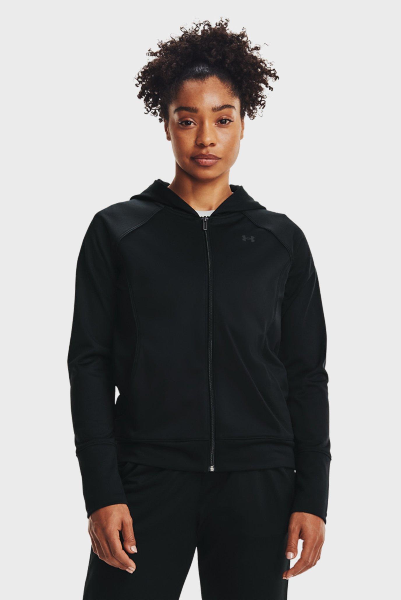 Женское черное худи Tricot Jacket 1