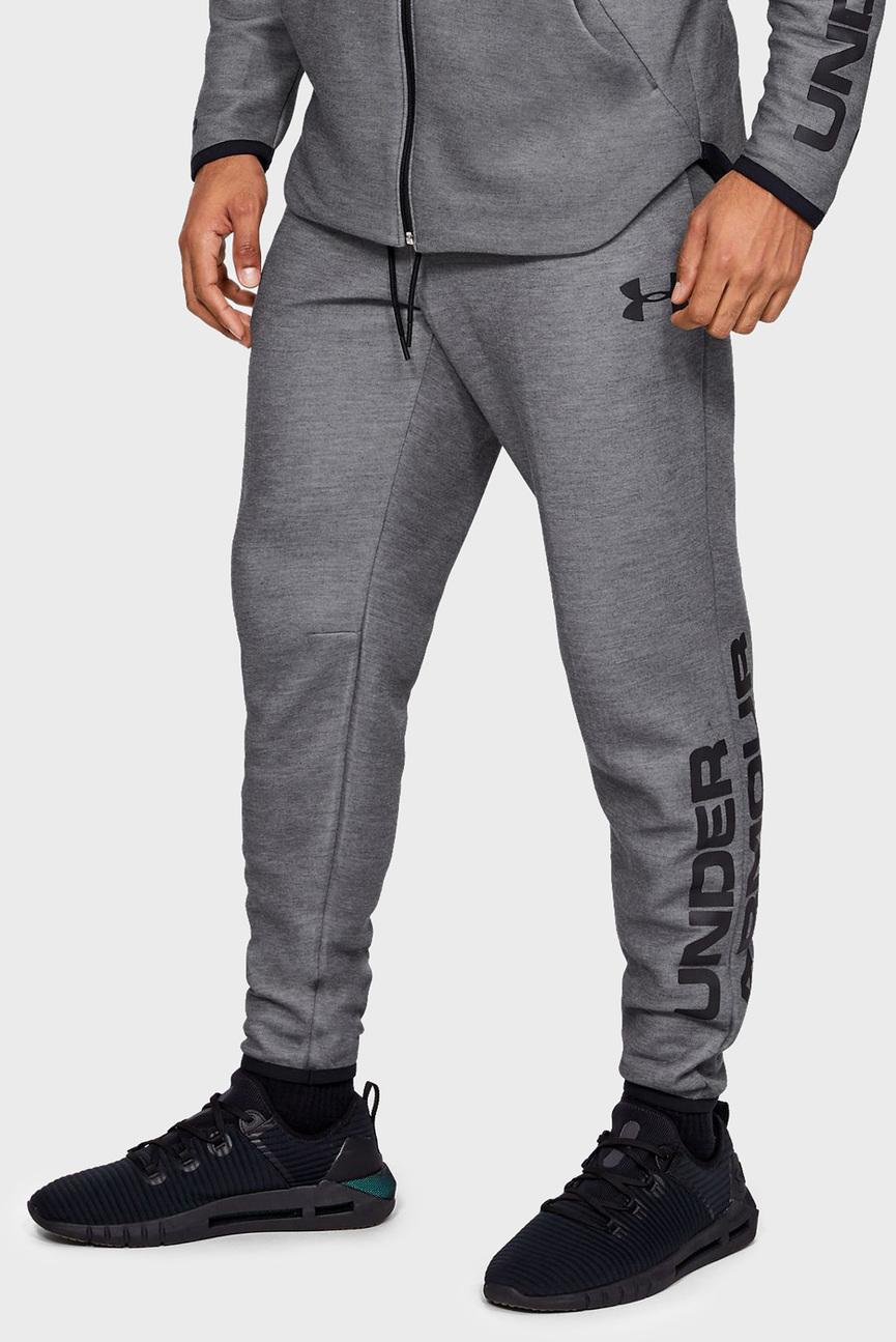 Мужские серые спортивные брюки MOVE LIGHT GRAPHIC PANT