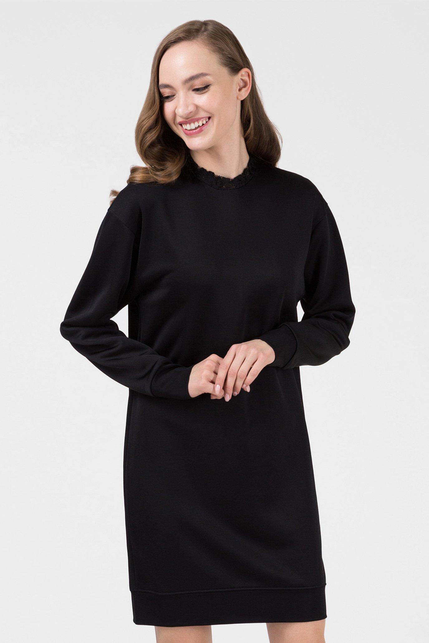 Женское черное платье 1