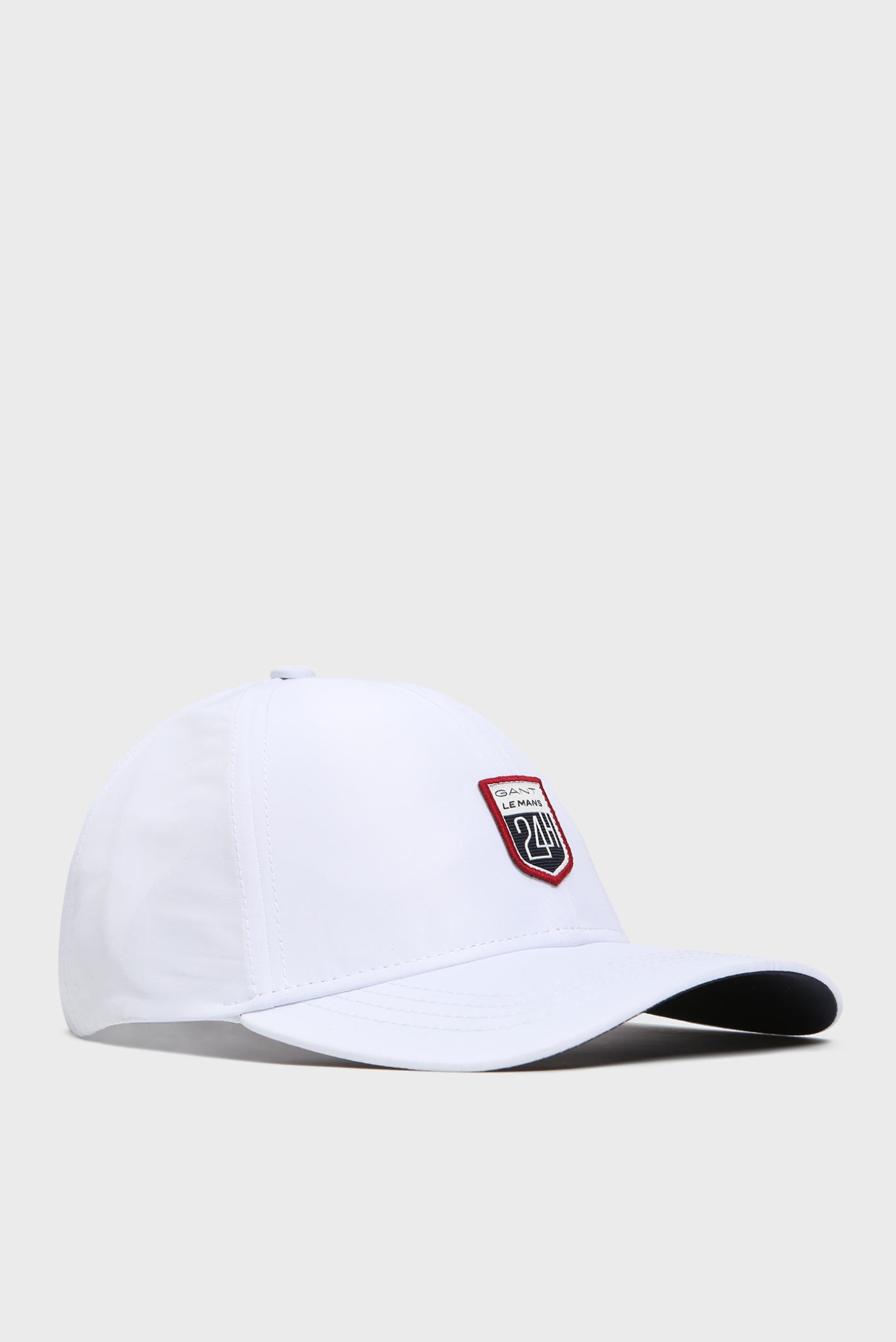 Женская белая кепка LM. LE MANS CAP Gant