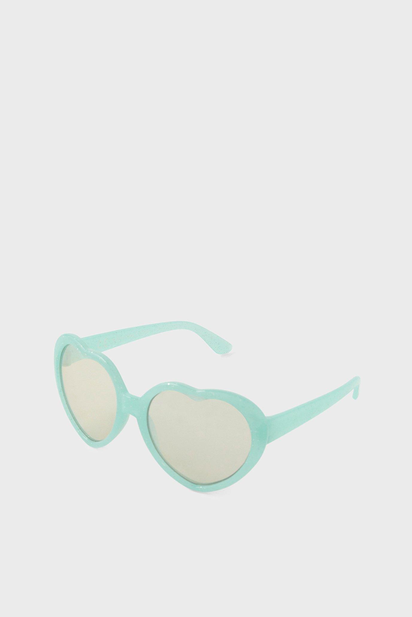 Дитячі м'ятні окуляри HEART SUNGLASSES 1