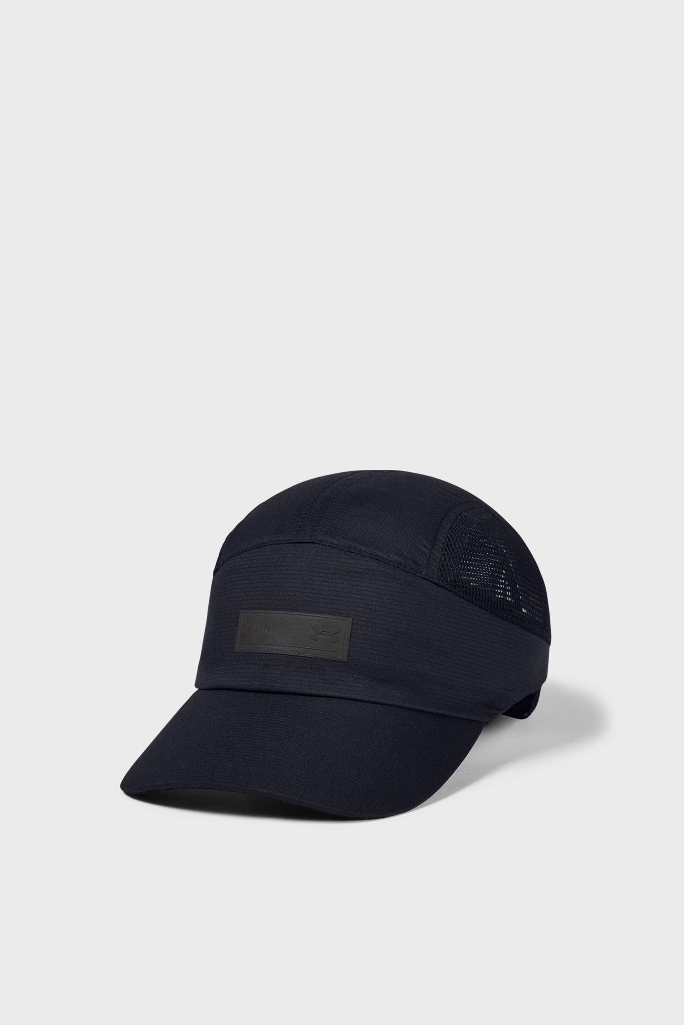 Чорна кепка Isochill Run Dash-BLK 1