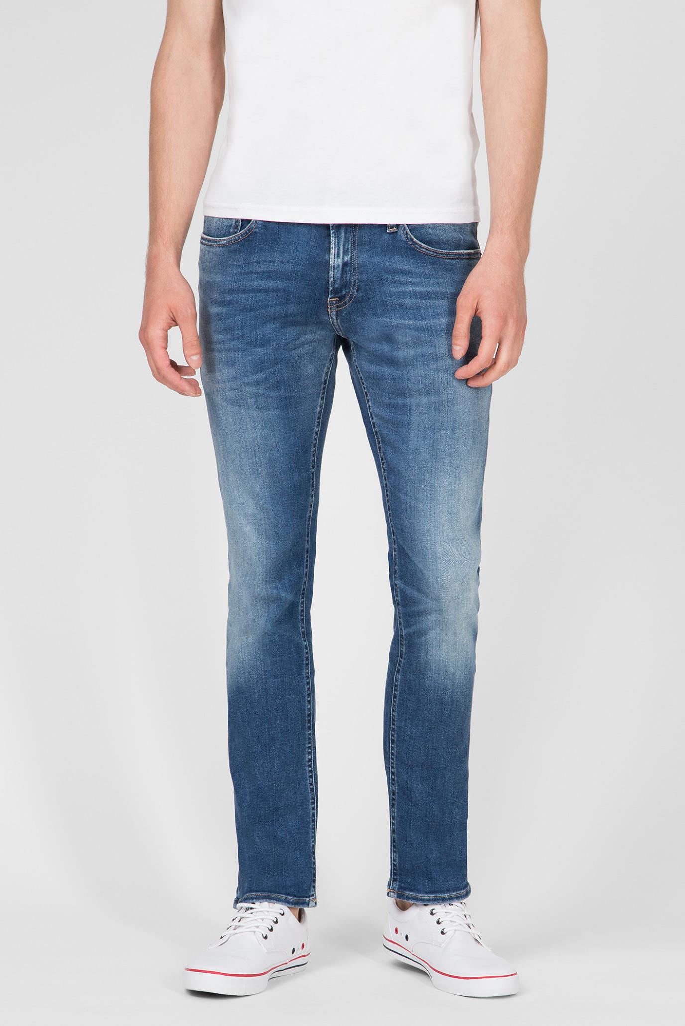 Мужские синие джинсы SLIM SCANTON Tommy Hilfiger DM0DM06124 — MD-Fashion, баркод 8719857491962