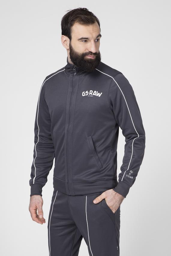 Мужская темно-серая спортивная кофта Gsraw gr track
