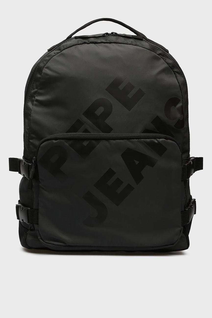 Мужской черный рюкзак EDAM