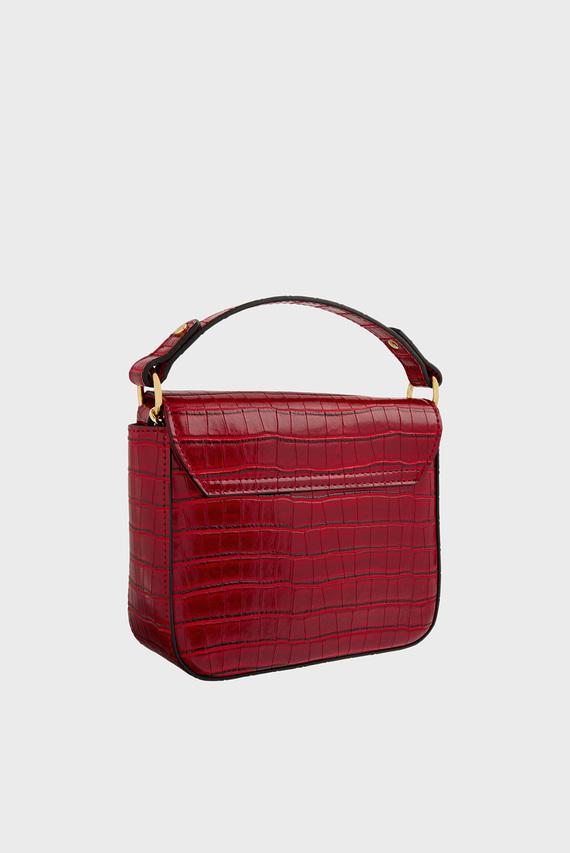 Женская красная сумка через плечо OLIVE LOCK