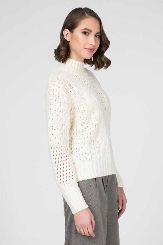 Женский белый свитер HELAIA