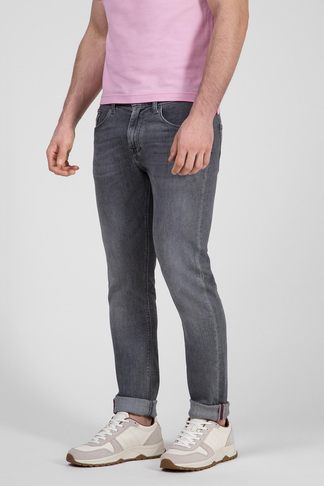 Мужские серые джинсы SLIM BLEECKER PSTR CUSTER Tommy Hilfiger