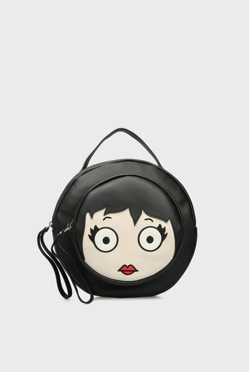 Женский черный рюкзак LOVELY AMELIE