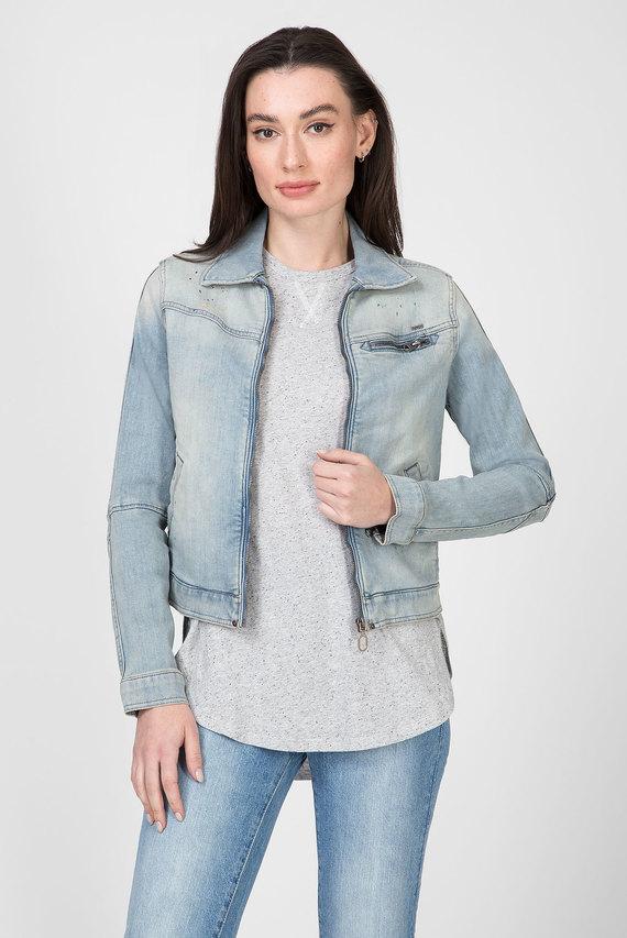 Женская голубая джинсовая куртка 5621 Slim Jkt