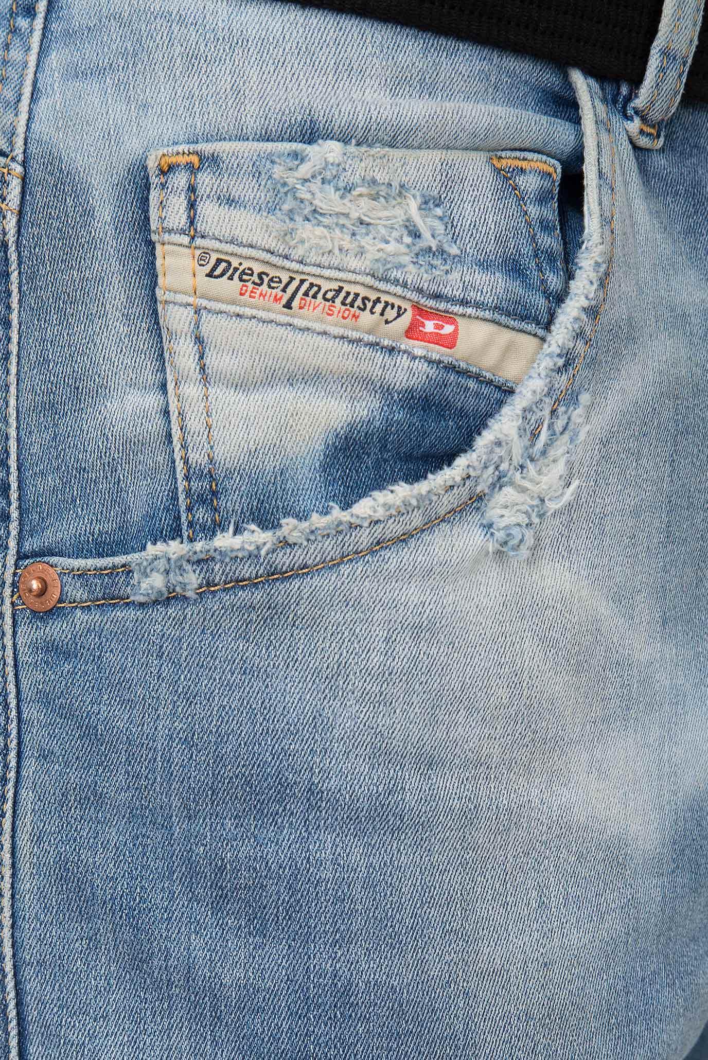 Купить Мужские голубые джинсы KROOLEY-T Diesel Diesel 00SE2S 087AE – Киев, Украина. Цены в интернет магазине MD Fashion
