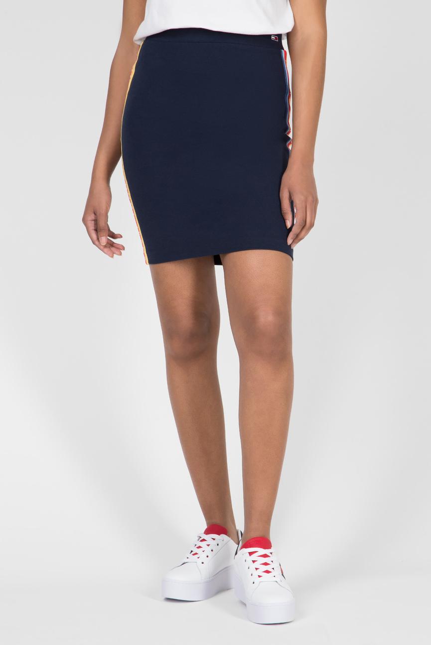 Женская темно-синяя юбка TJW SOLID BODYCON