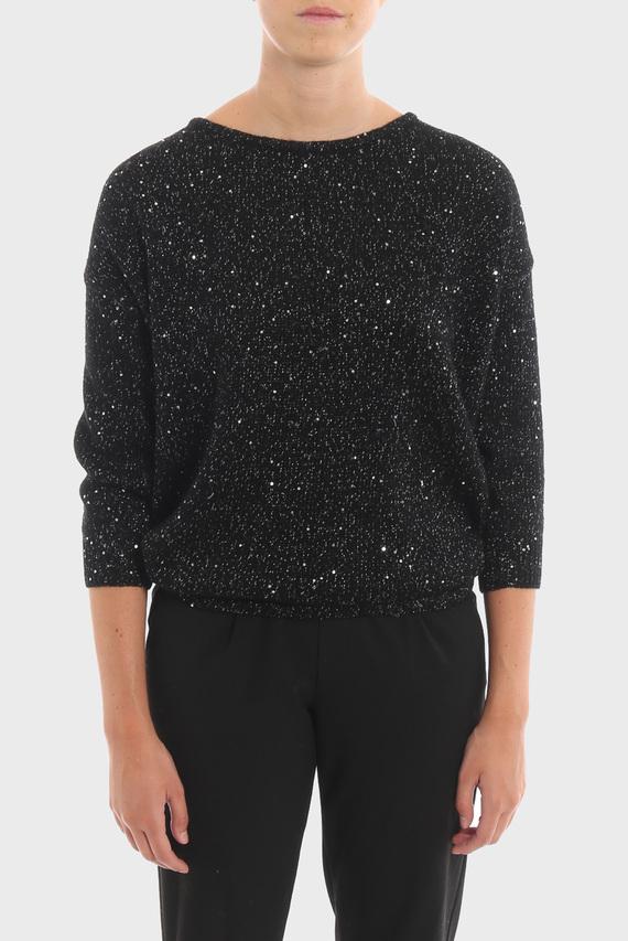 Женский черный свитер MAGLIA