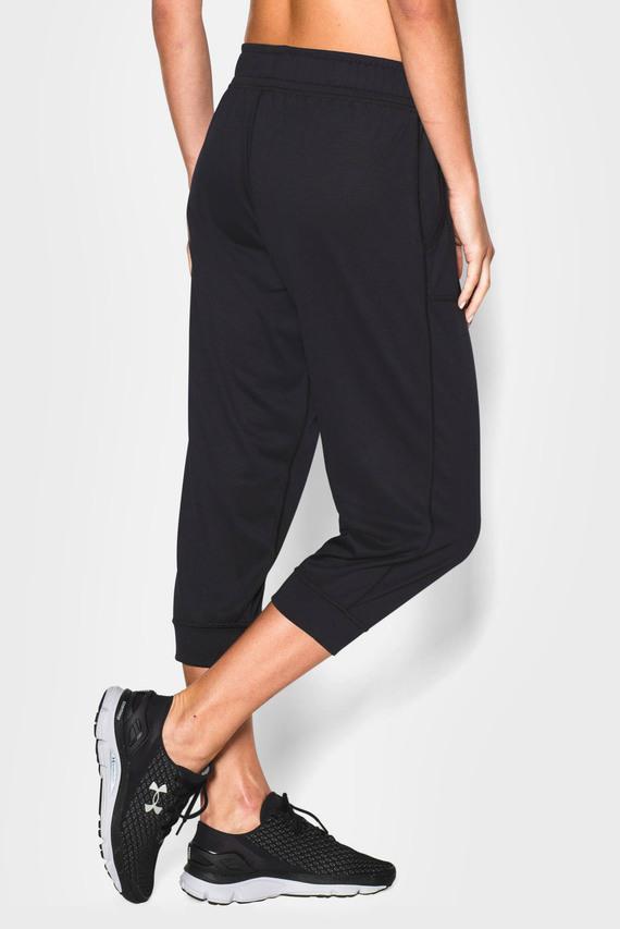 Женские черные брюки Tech Capri - Solid