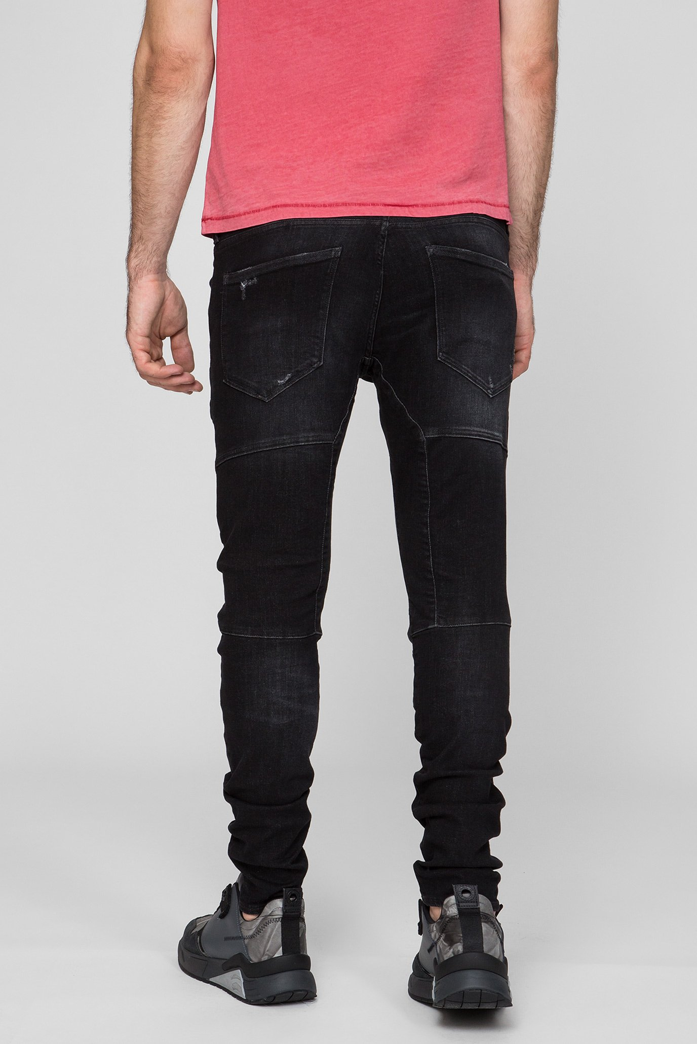 Купить Мужские черные джинсы Rackam 3D Skinny G-Star RAW G-Star RAW D06763,A634 – Киев, Украина. Цены в интернет магазине MD Fashion