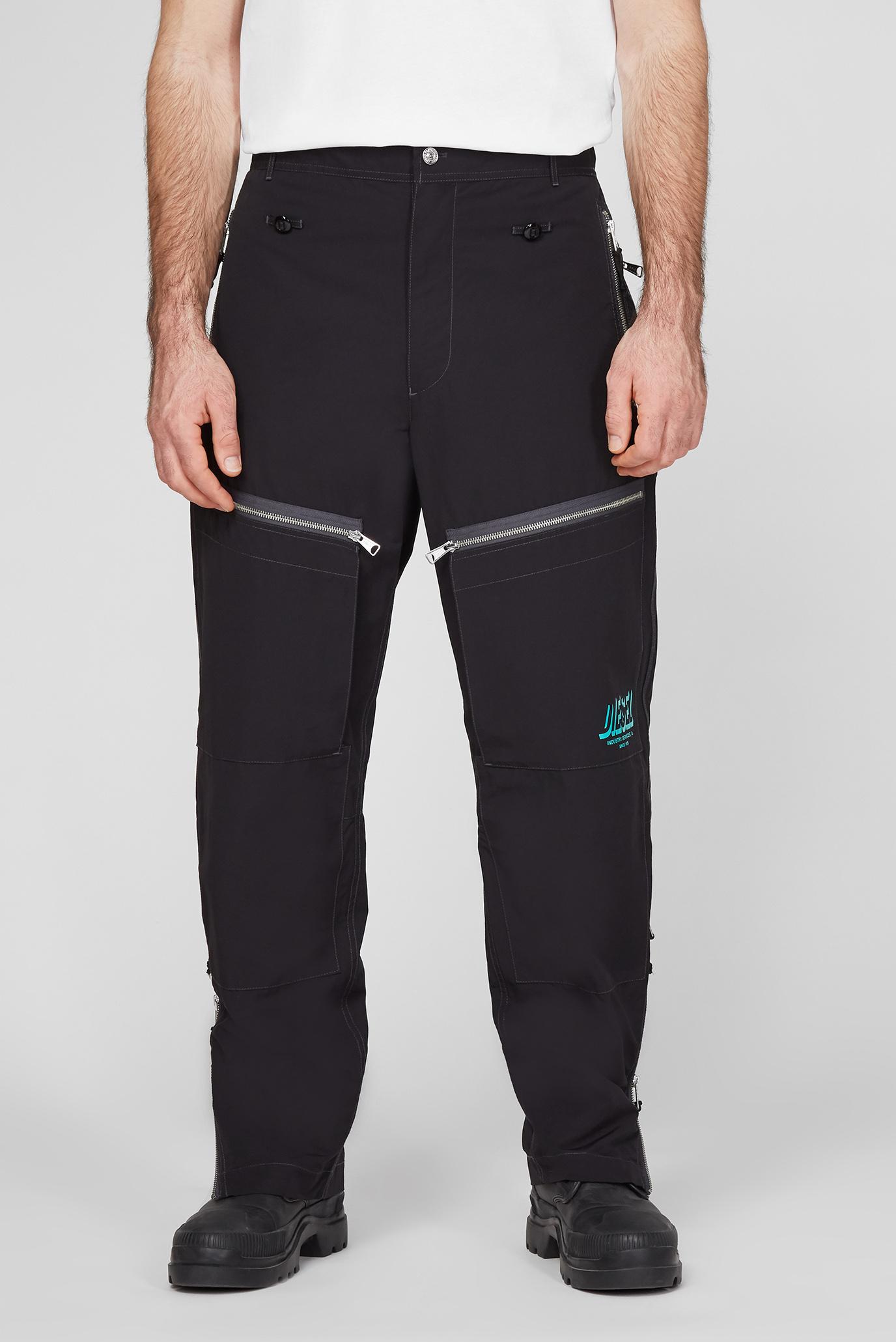 Мужские черные брюки P-AMBRIDGE 1