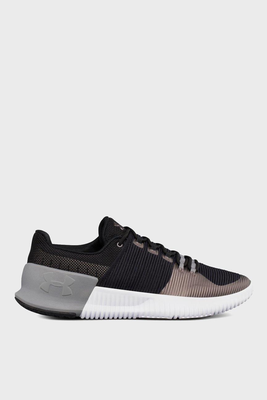 Мужские черные кроссовки UA Ultimate Speed