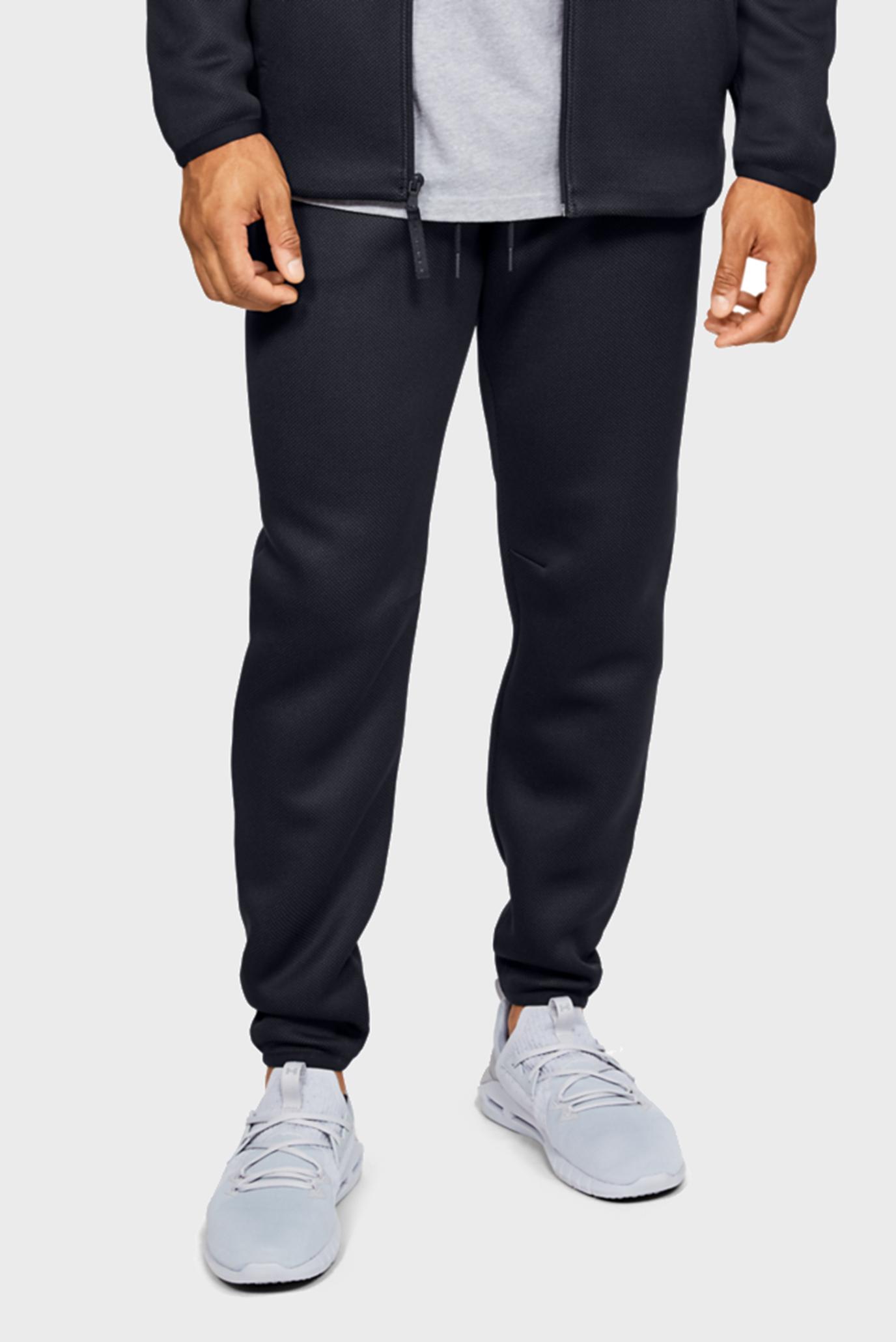 Чоловічі чорні спортивні штани UA MOVE 1