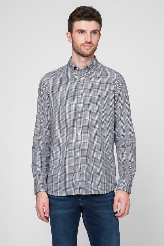 Мужская рубашка в клетку SLIM PRINCE OF WALES