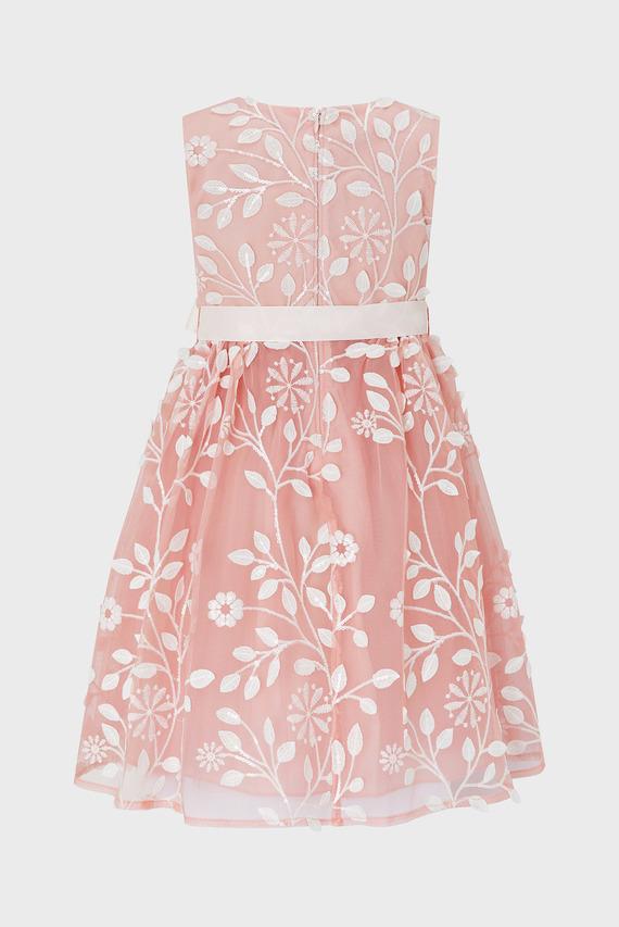 Детское розовое платье SYLVIA PINK