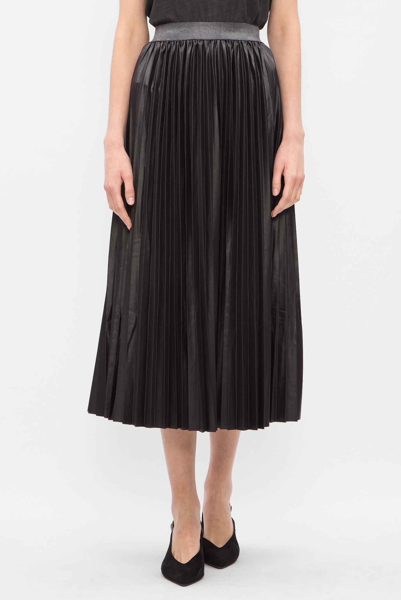 b3799c9dad9 Купить Женская черная юбка-плиссе Replay Replay W9233A.000.22492 – Киев