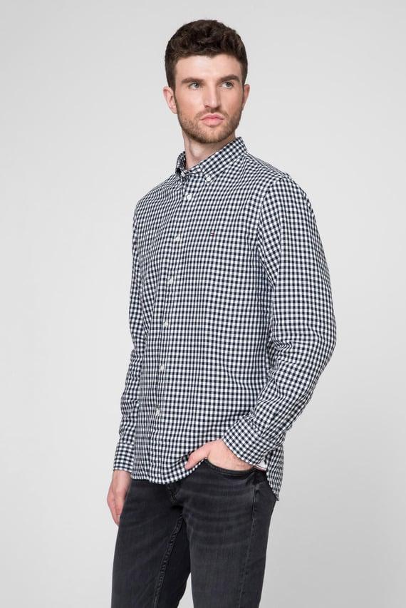 Мужская рубашка в клетку CLASSIC TEXTURED GINGHAM