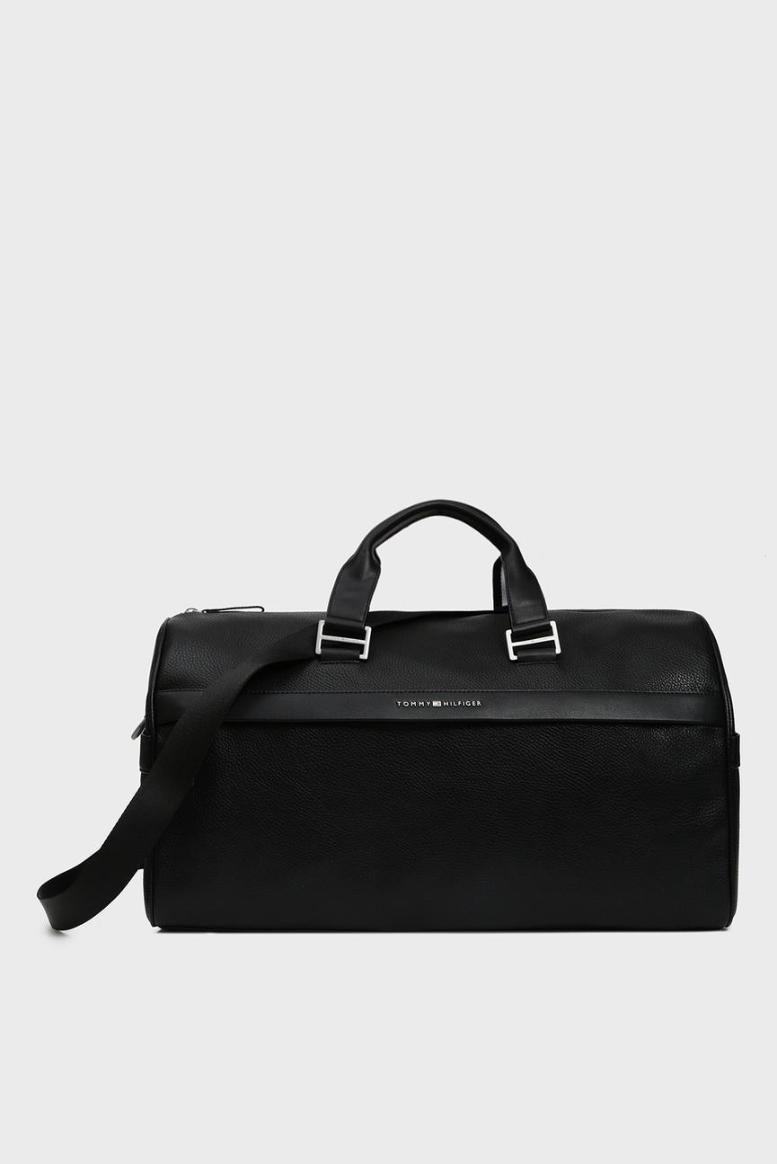 Мужская черная дорожная сумка TH BUSINESS DUFFLE