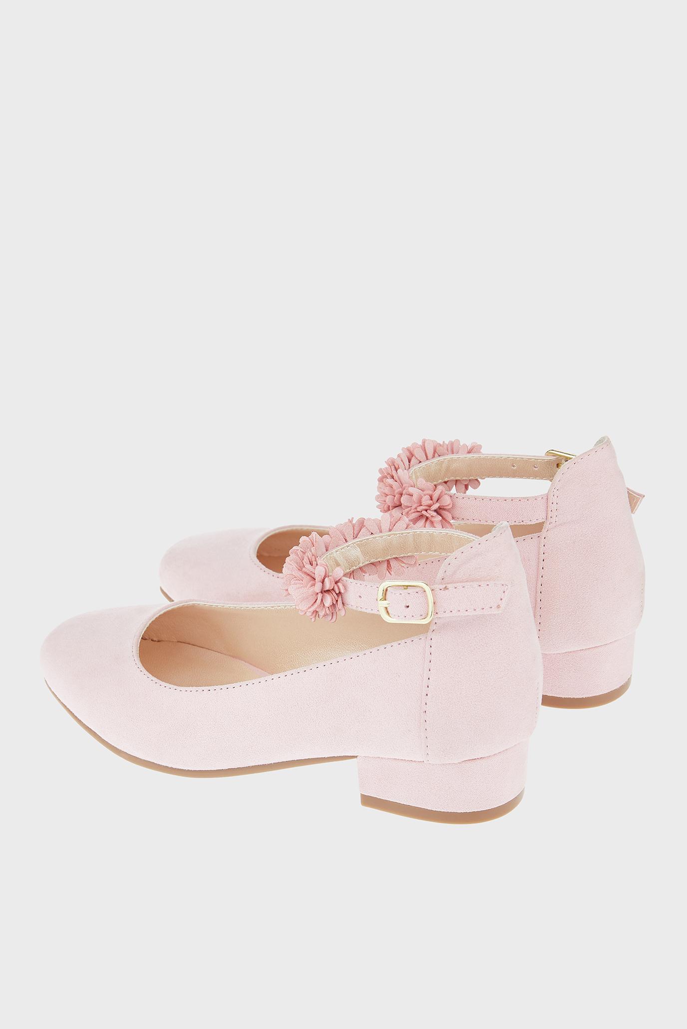 f8e8155b Купить Детские розовые туфли THEA FLORAL STRAP Monsoon Children Monsoon  Children 511035 – Киев, Украина. Цены в ...
