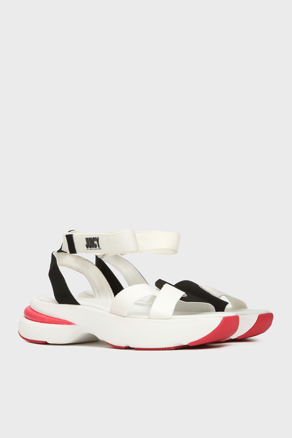 Женские белые сандалии BENEDETTE