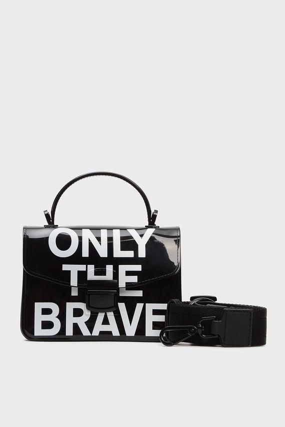 Женская черная сумка через плечо MISS-MATCH