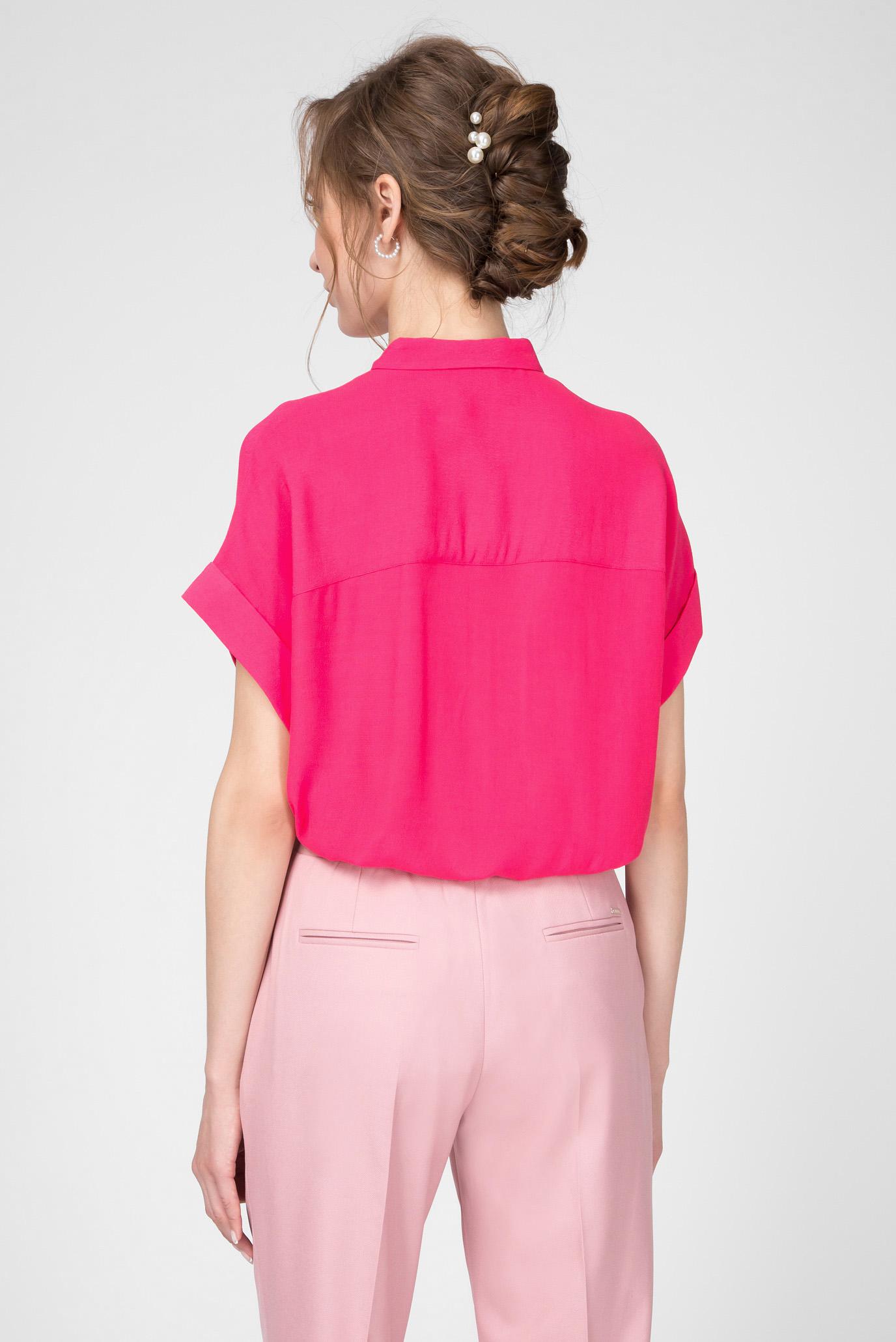 Женская малиновая блуза Calvin Klein